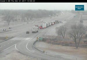 Accident on I-80 near Cozad slows traffic