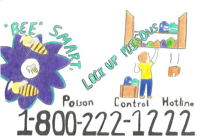 Nebraska student winner in national poison prevention poster contest