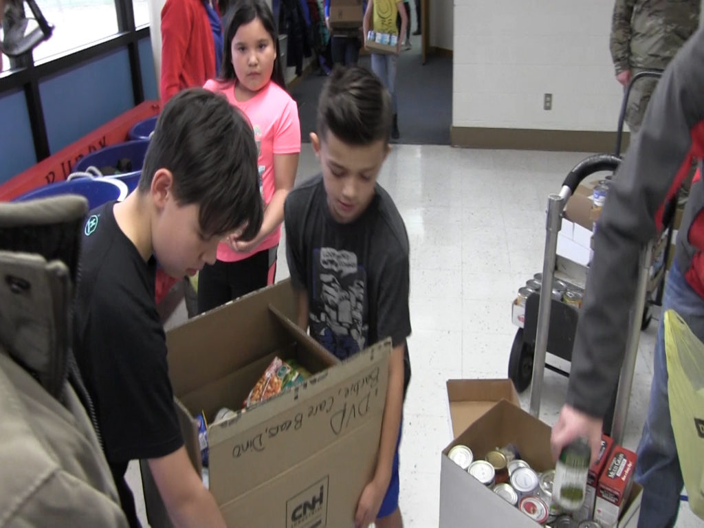 Gift of Love Canned Food Competition another success