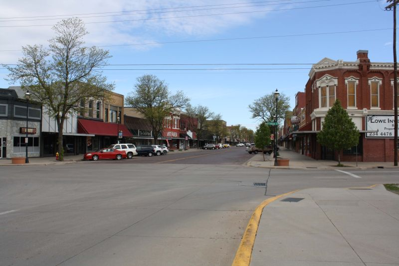 Kearney's historic downtown district listed in the national register of historic places