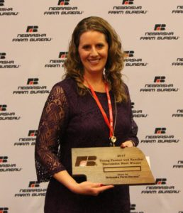 Lindsey Stern, Takes Home Nebraska Farm Bureau's Discussion Meet Competition