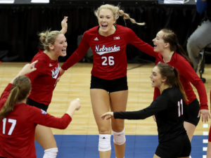 Husker volleyball wins national championship