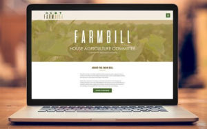 **WEBSITE LAUNCH** House Agriculture Committee Launches Farm Bill Landing Page