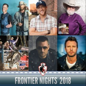 Cheyenne Frontier Days announces 2018 Frontier Nights lineup