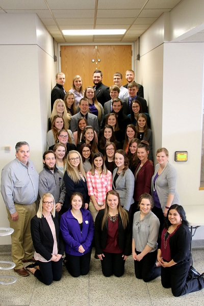 Getting ready for the future: K-State animal science students engage in research