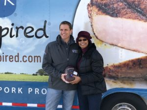 Nebraska's Pork Producers Donate 160 Hams for the Holidays