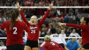 (Audio) Huskers knock off Nittany Lions in 5 to advance to National Championship
