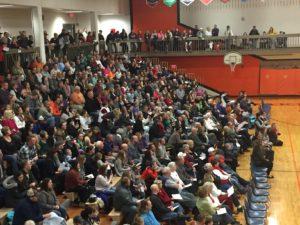 Big turnout at Oakland-Craig K-6 Program