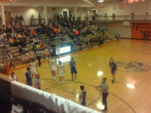(AUDIO) Oakland-Craig and Winnebago split Basketball Games aired on the Bull