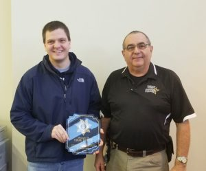Dawson County Deputy honored for apprehension of
