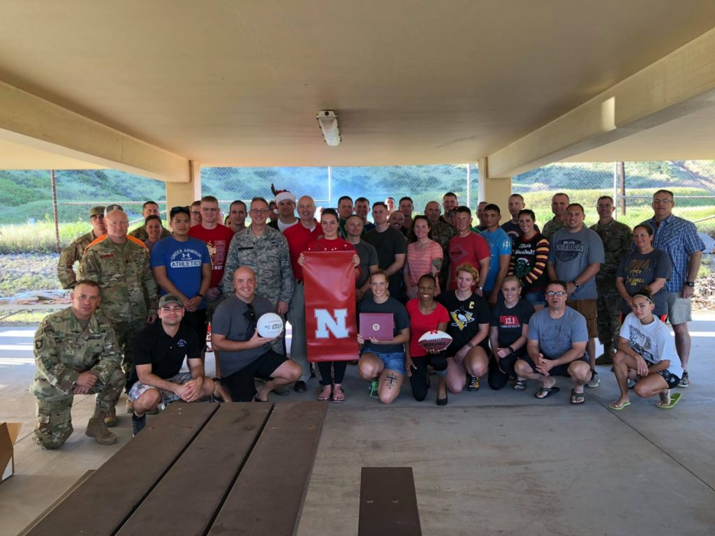 Ricketts visits Nebraska Guard members in Guantanamo Bay