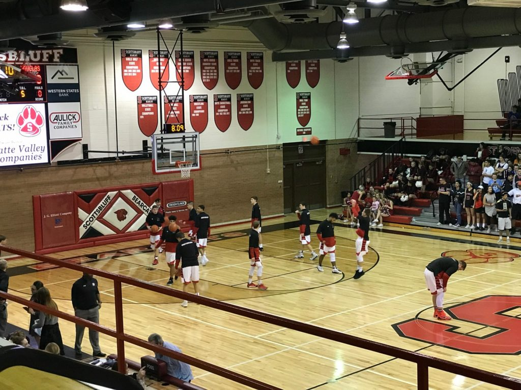 (AUDIO) Scottsbluff splits home games against Douglas