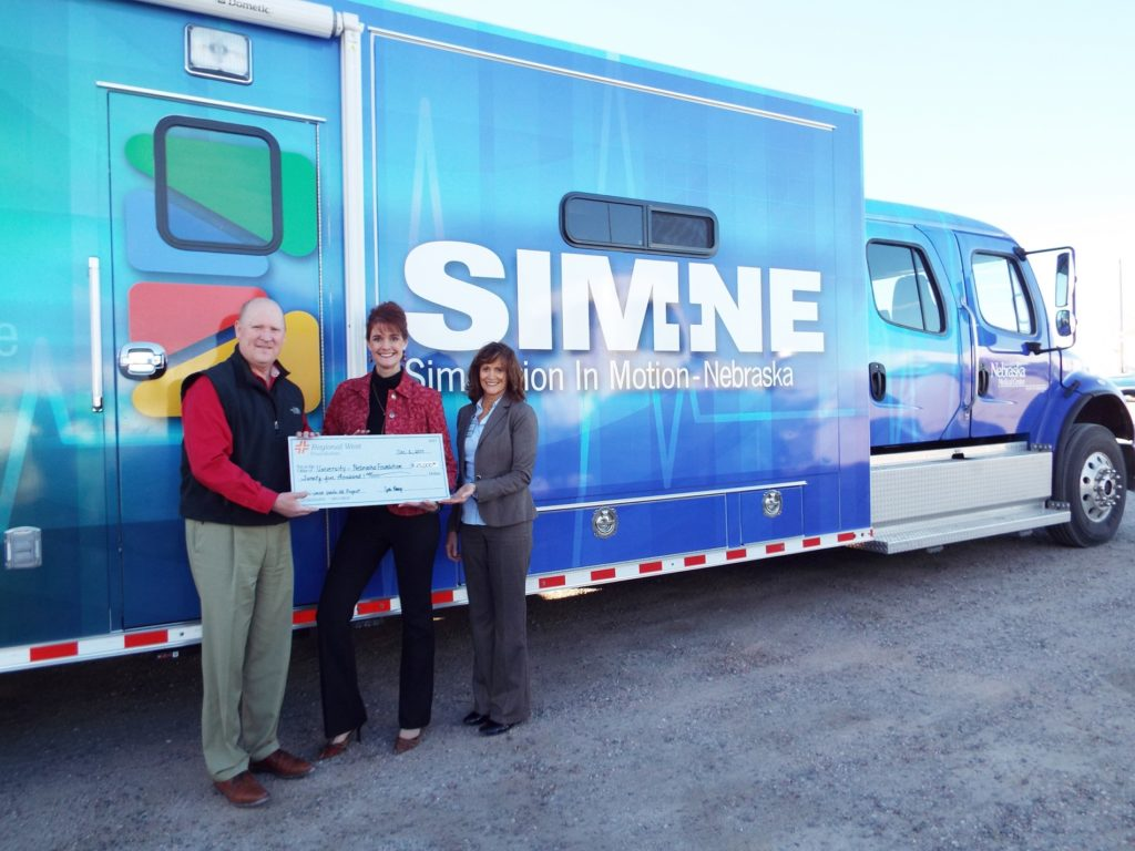 Regional West Foundation Contributes $25,000 to SIM-NE for Local EMS Training