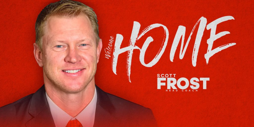 Scott Frost Coming To Nebraska to lead football program