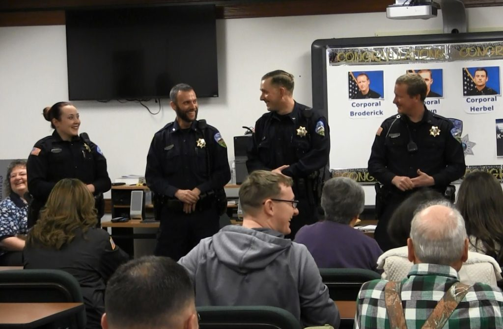 Scottsbluff Police announce first officers to become Corporals