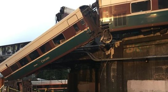 Amtrak Derailment in Washington State
