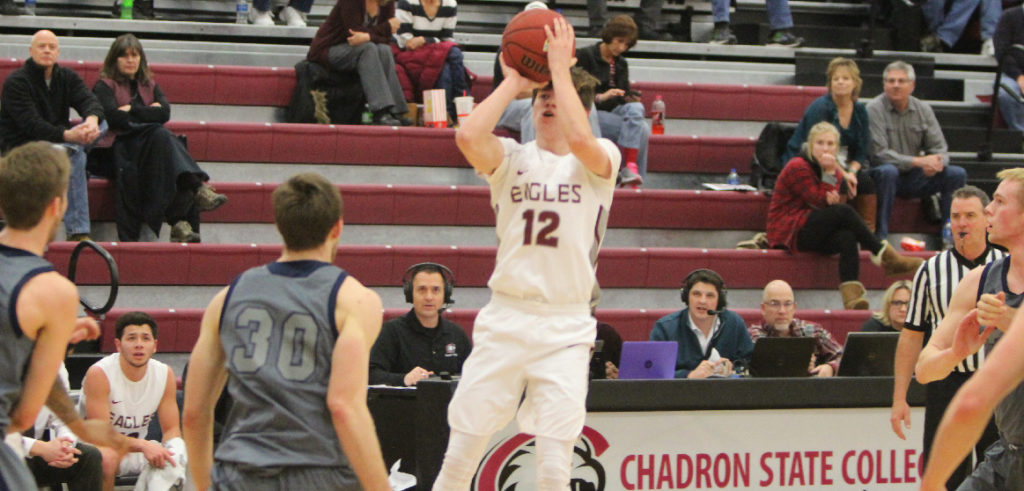 Eagles roll past Cougars, 83-59
