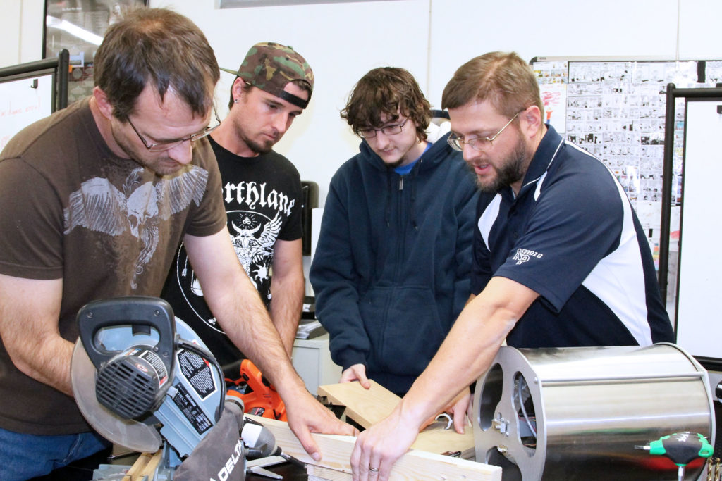 *Audio* MPCC students design soybean thresher
