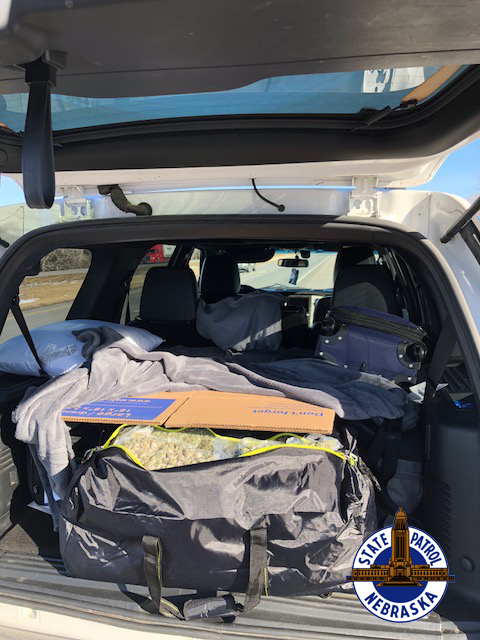 Traffic stop on I-80 uncovers 227 pounds of marijuana
