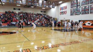 Cozad and Lexington Split Games on Carpenter Court