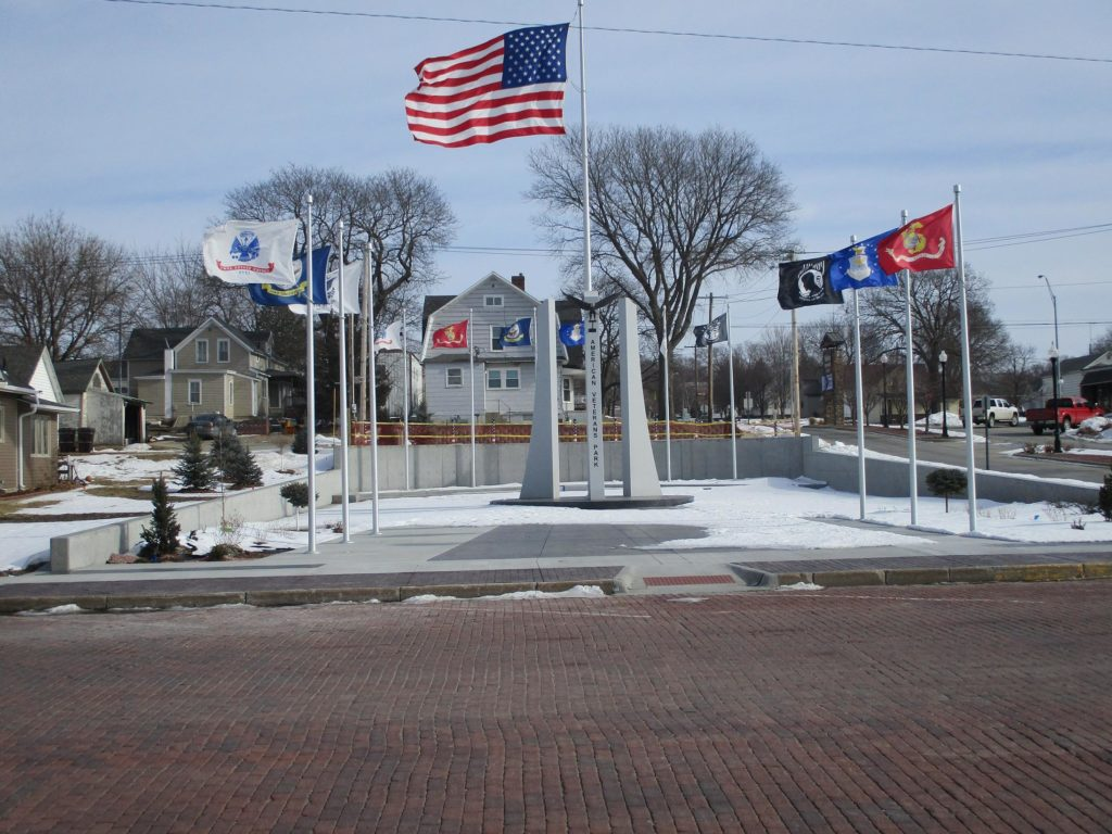 (Audio) Phase One Completed On American Veterans Park in West Point