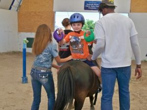 Indoor arena for Buckboard Riding Academy becoming more than a dream