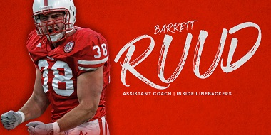 Barrett Ruud Named Assistant Coach for Huskers