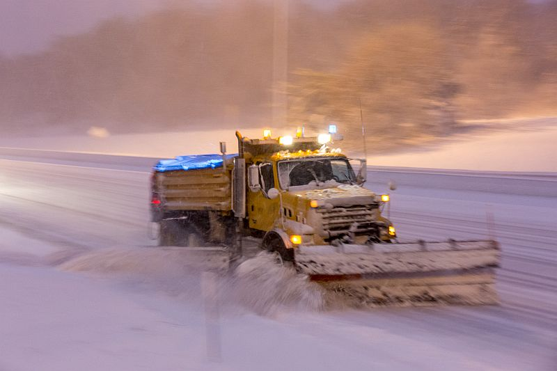 Winter Storm Causes Fatal Accident, Dozens of Crashes