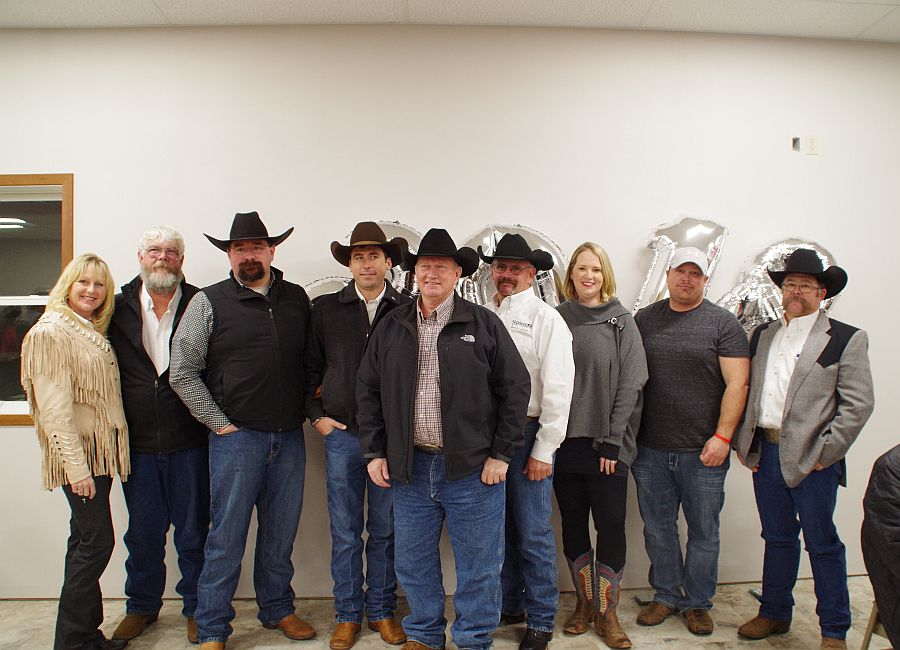 Cattlemen brave the cold to celebrate