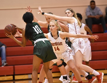 Strong start lifts Northeast Women over Central