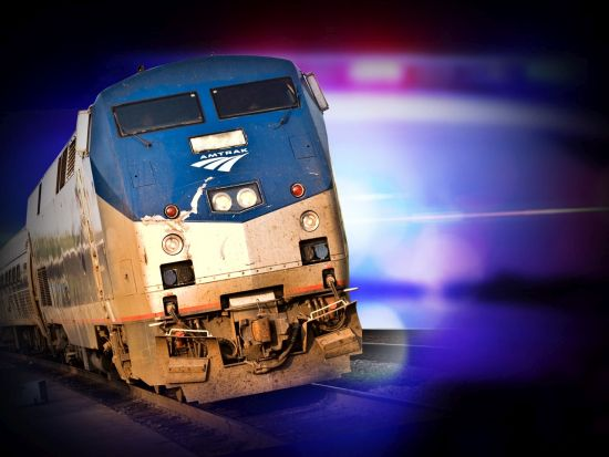 Man charged with terrorism in stopping of Amtrak train