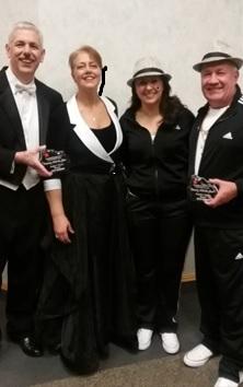 Schaffs, Vidlak  and Richard winners at Soroptomists Dancing with the Stars
