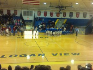 (AUDIO) Logan View/Scribner-Snyder Basketball Teams split Doubleheader with Arlington