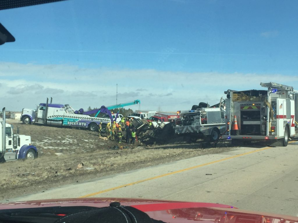I-80 crash in Wyoming claims life of Californian trucker