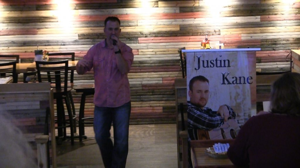 Big crowd Tuesday night for Justin Kane video release