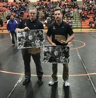 Lexington Wrestling Coaches Honored For Their Work