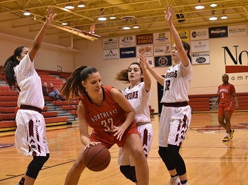 Northeast Women's basketball downs Little Priest