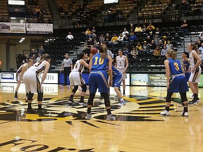 Lopers Earn Split At Fort Hays State