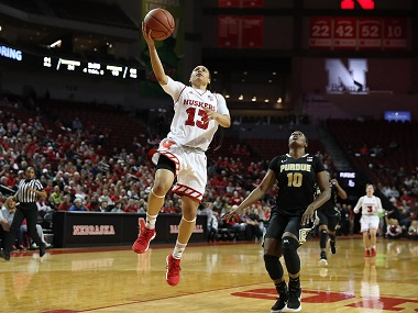 Husker Women Blow Past Boilermakers