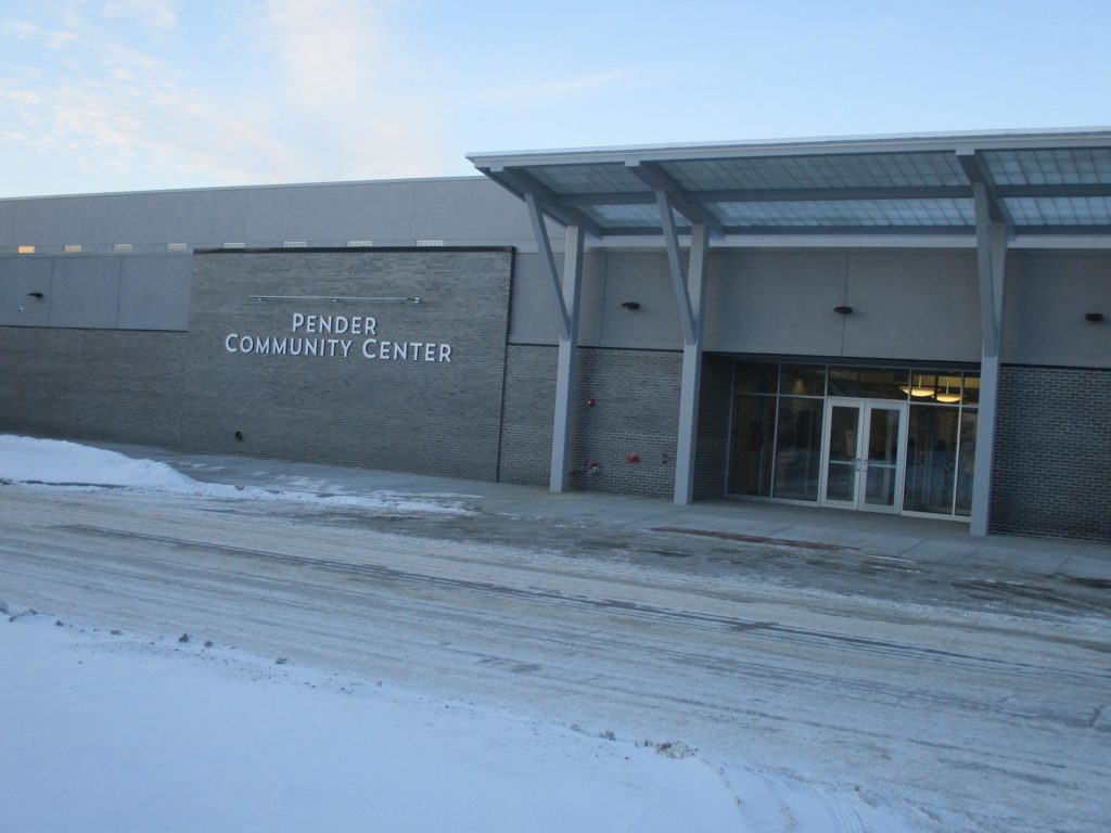 (Audio) Great Turn Out For Pender Community Center Open House