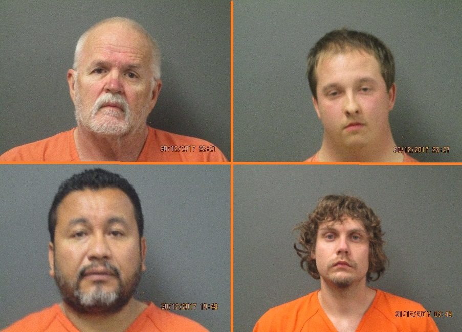 Four arrested in Panhandle prostitution sting to make first court appearance