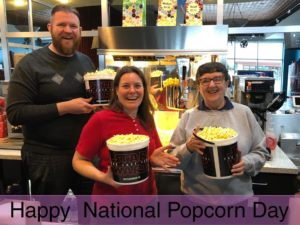 Midwest Theater celebrates National Popcorn day with free popcorn
