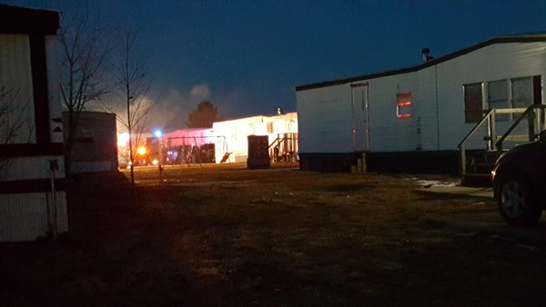 LVFD and Red Cross respond to evening fire in Lexington