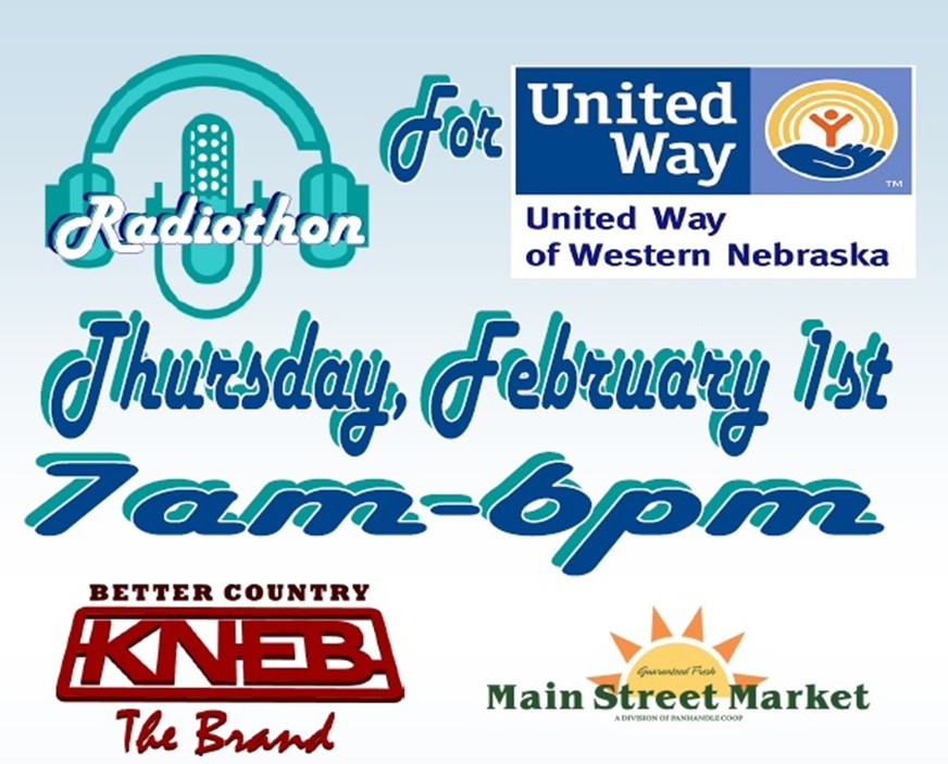KNEB Radiothon Thursday to help United Way reach goal