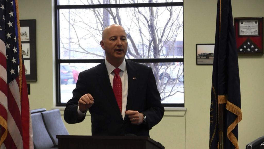 Ricketts says new state budget will focus on property taxes