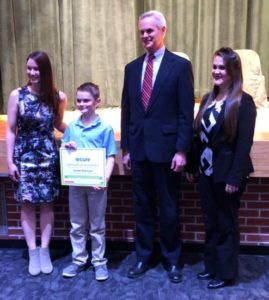 Heartland Community Schools student wins If Kids Could Cure contest by Pfizer