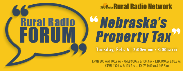 Special program at 3:00pm TODAY on Property Taxes