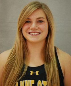 WSC's Dendinger named NSIC Women's Indoor Field Athlete of the Week
