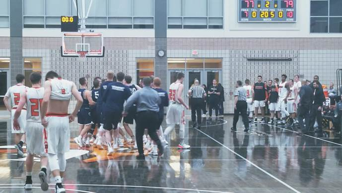 Gillingham drops Doane with overtime buzzer beater