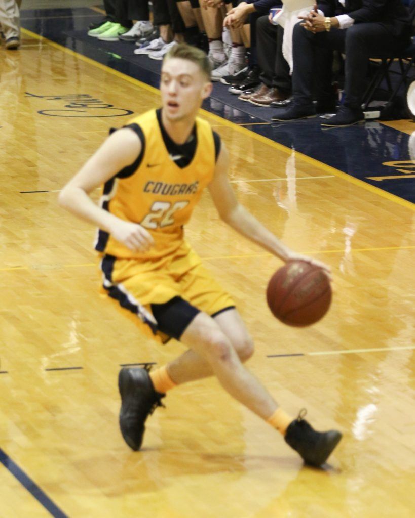 Cougars knock home 22 3-pointers in 110-55 win